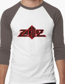 Zardoz Black Red Men's Baseball ¾ T-Shirt