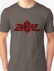 Zardoz Black Red T-Shirt