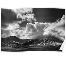 Snowdon Range April 2010 Poster