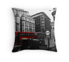 Layers of London Throw Pillow