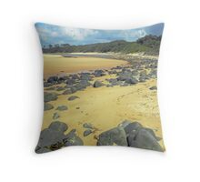 Saltwater Beach, NSW Mid North Coast. Throw Pillow