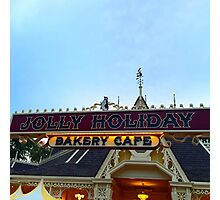 Jolly Holiday Cafe Photographic Print