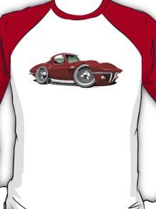 Chevrolet Corvette Stingray C2 caricature red T-Shirt