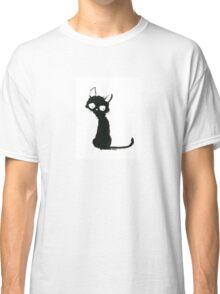 Black Cat in Love Classic T-Shirt