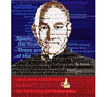 Captain Jean Luc Picard Photographic Print