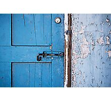 The Blue Door Photographic Print