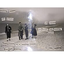 Waiting Rooms Photographic Print