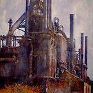 Abandoned blast furnace..... by DaveHrusecky