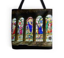 Hubberholme Church Window #3 Tote Bag