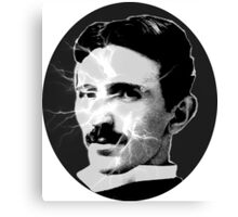Tesla - Electricity Canvas Print