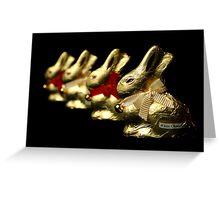 Lindt Bunnies Greeting Card