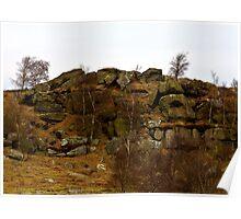 Brimham Rocks #3 -Nidderdale. Poster