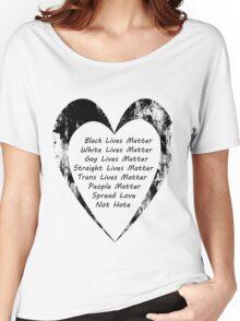 All Lives Matter Women's Relaxed Fit T-Shirt