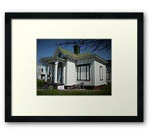 Gothic Cottage Framed Print