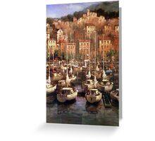 European yachts  Greeting Card