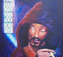 Saint Snoop Dogg (done with acrylic) by Sander Bos