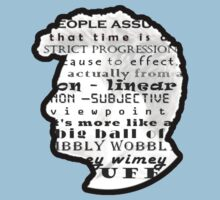 Doctor Who Quote -Timey Wimey  Baby Tee