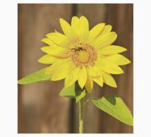 Bee on Sunflower Kids Tee