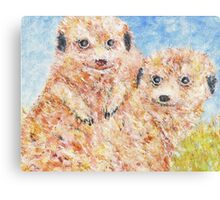 Mia Cats Canvas Print