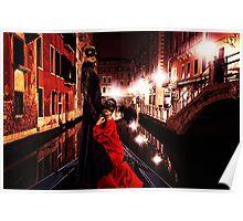 Haute Couture Venice Fine Art Print Poster