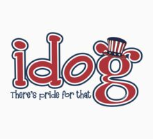 Patriotic idog - There's Pride for That Kids Clothes