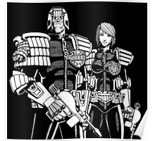 Judge Dredd & Judge Anderson  Poster