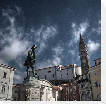 Local Hero - Piran, Slovenia by Eric Strijbos