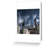 Local Hero - Piran, Slovenia Greeting Card