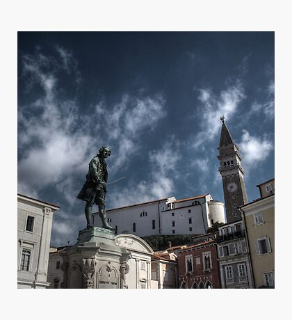 Local Hero - Piran, Slovenia Photographic Print
