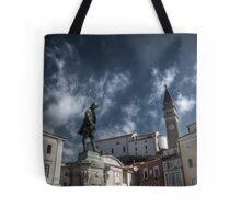 Local Hero - Piran, Slovenia Tote Bag