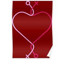 Lesbian Love Poster