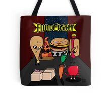 Food Fight Tote Bag