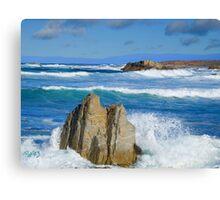 Asilomar Rollers - Asilomar State Beach Canvas Print