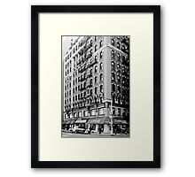 In the middle of everywhere Framed Print