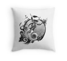 ROCKETMAN Throw Pillow