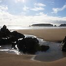 Sunlight and Ripples - Marloes Sands, West Wales by Daisy-May