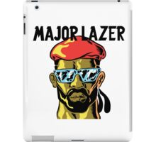 Major Lazer Logo iPad Case/Skin