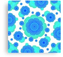 Retro Style Decorative Abstract Pattern Canvas Print