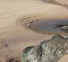 Sandy Rock Pool #3 - Marloes Sands Beach, Wales by Daisy-May