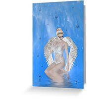 Heaven`s Tears Greeting Card