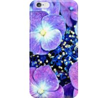 Summer Purple Flowers iPhone Case/Skin