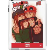 Wilson&Summers fake comic book cover (lettered) iPad Case/Skin