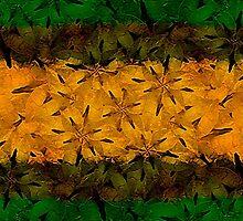 Tribal Floral Pattern by DFLC Prints