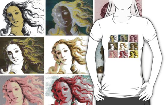 The Birth Of Venus'  T-shirt by VenusOak