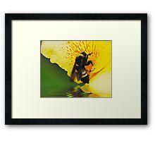 Love Thoses FLowers Framed Print