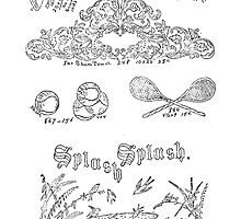 New Sample Book of Our Artistic Perforated Parchment Stamping Patterns Kate Greenaway, John Frederick Ingalls 1886 0110 by wetdryvac