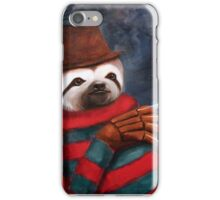Nightmare on Elm Street Sloth iPhone Case/Skin