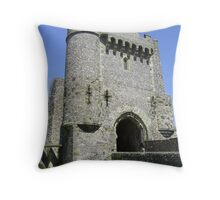 The Gatehouse, Lewes Castle Throw Pillow
