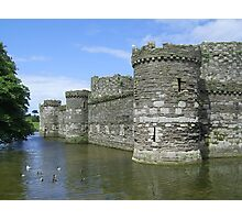 Beaumaris Castle and Moat Photographic Print