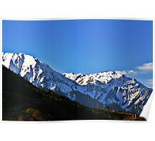 A high altitude scene. Poster
